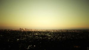 griffith observatory by narkito