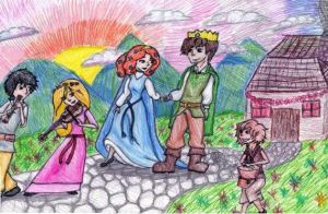Celtic Wedding by MousieDoodles