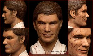 Dexter Morgan by emilySculpts
