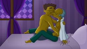 Day 12: Making Out by FruitBatMan