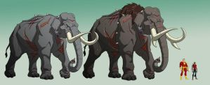 YJ: KOBRA VENOM ELEPHANTS by Jerome-K-Moore