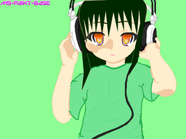 Kiwi loves music :D by FairyTailForever123