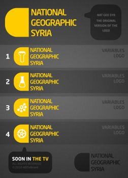 Logo National Geographic Syria by Art-vibrant