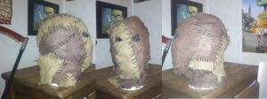 another scarecrow mask by AcE-oFkNaVeS