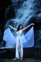 Charis - waterfall and wings 1 by wildplaces