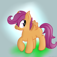 Just Scootaloo by Wonder-Waffle