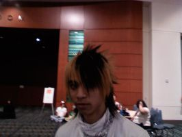 Asian guy with awesome hair by Velavter