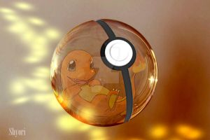 Pokeball Charmander by condemilenio