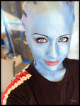 Liara cosplay - Smile by Soylent-cosplay