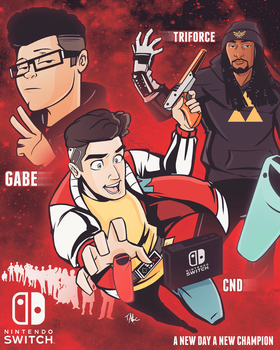 Nintendo Switch Champions by TerryAlec