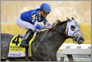 Frosted Wins the Wood Memorial by Jessie-kad