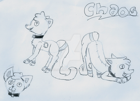 Chaos Ref Sheet - Lost Drawing by Blooxi