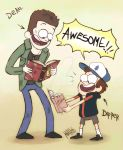 Supernatural  gravity falls by dragon-flies