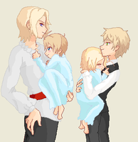 APH Family by Darkfire75
