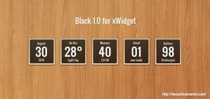 Black 1.0 for xWidget by Liuxiaofei