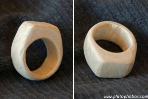 wooden ring by Philophobos