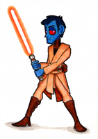 Jedi Knight by brothersdude