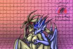 2014: Happy Birthday to KB-unlimited (more NSFW) by Snowfyre