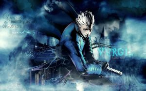 Vergil Wallpaper (request) by MaryLander97