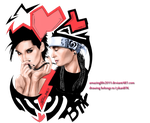 Bill and Tom by LykanBTK - PNG by amazinglife2011