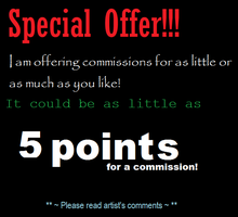 Special Commissions offer! -on hold- by careas