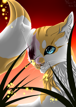 Brightheart - Fireflies by Flamestorm14