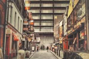 Dublin Crown Alley by Pajunen