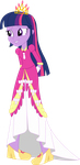 Equestria Girls Twilight Sparkle (Princess Dress) by JustinKWork