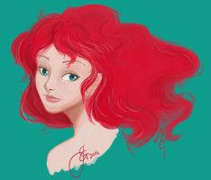 RED HEAD by tiannangel