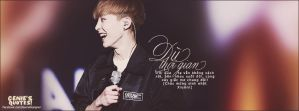 Quotes Xiumin - Y.E.U by GenieDesigner