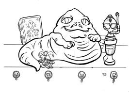 Jabba the Hutt by JTampa