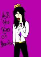 Ask The King of Hearts (Questions/Dares Open) by TorturousDreams