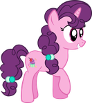 My 1st vector of Sugar Belle. by Flutterflyraptor