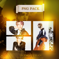 Luhan Png Pack by Tekmile