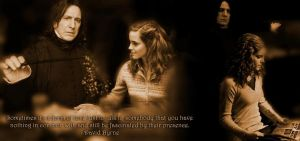 Still Be Fascinated - Severus and Hermione by elisedq