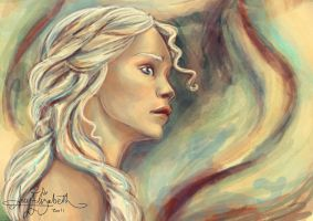 Khaleesi of the Dothraki by airyfairyamy