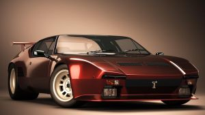 1971 De Tomaso Pantera GT5 by nancorocks