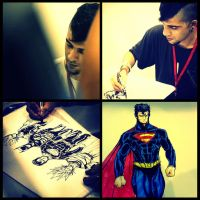 Comic Con Bangalore 2013 by bloodcult
