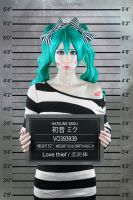 Hatsune Miku - Love thief by KiraHokuten