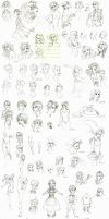Sketchpage: 2013/08-2014/05 by Lizerology