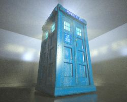 The TARDIS by TheBigDaveC