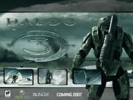 Halo 3 Wallpaper by LAWdESIGNz