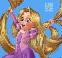 Rapunzel Disney Kid by Didi-Esmeralda