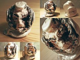 Infected Clay Bust (MoonDust) by nicolaykoriagin