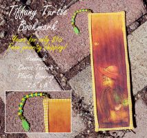 Tiffany Turtle BOOKMARK by MistyTang