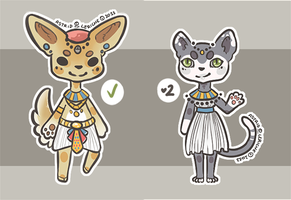 Egyptian Cheebs  -- 1/2 OPEN by Hardrockangel-Adopts