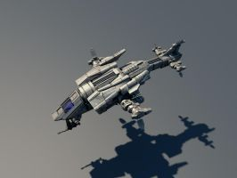 scoutship untextured by macmuelli