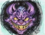 Cheshire Cat by Dan Leister and Nei Ruffino by Gretchdragon