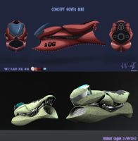 Hover Bike Concept by VikDesigns