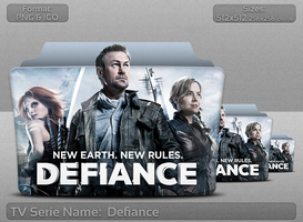 Defiance - Tv Series Folder Icon by atty12
